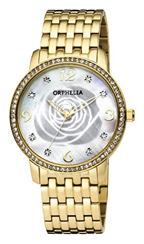 ORPHELIA La Rose Women's Gold Stainless steel watch-OR12704