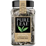 Pure Leaf Hot Black Tea Bags with Vanilla, 16 Count (Pack of 3)