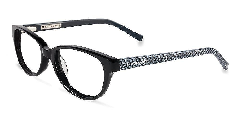 LUCKY BRAND Eyeglasses D701 Black 46MM