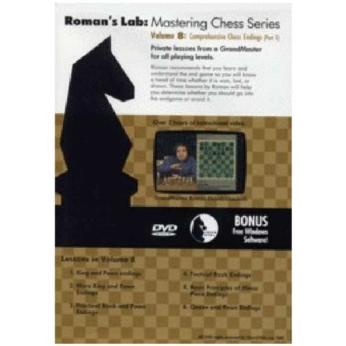Roman's Lab Chess DVD Video Volume 8: Comprehensive Chess Endings Part 1