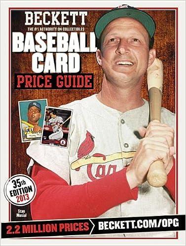Beckett Baseball Card Price Guide 2013 Brian Fleischer