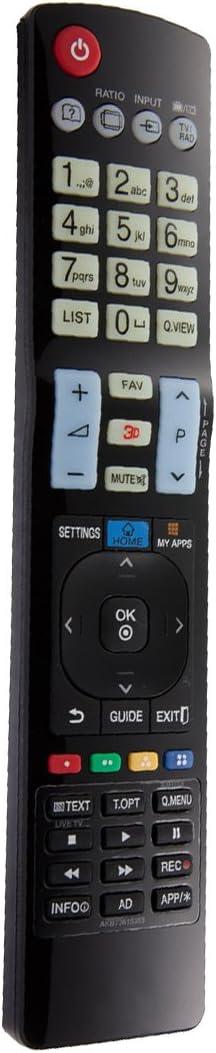 Ersatz Fernbedienung für LG TV 32LH703032PG600032PG6000-ZA32PG6010