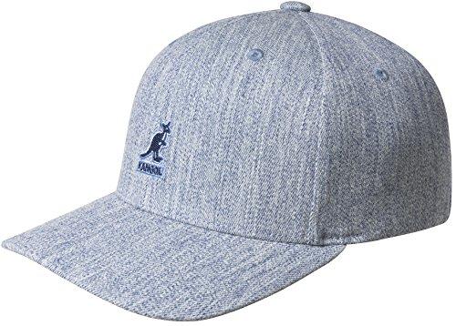 - Kangol Men's Wool Flexfit Baseball Cap, Heather Blue, L/XL