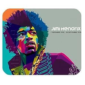 Personalized Customized Jimi Hendrix Mouse Pad Standard Rectangle Mousepad MP010906