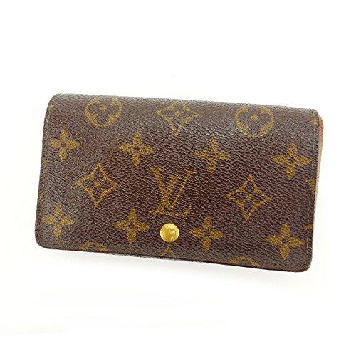 [ルイヴィトン] Louis Vuitton L字ファスナー財布 二つ折り レディース ポルトモネビエトレゾール M61730 モノグラム 中古 Y3357 B07952VLQ8