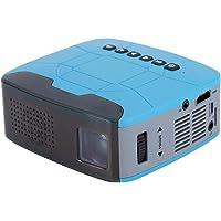 Yoidesu Pico Projector - 500 LM 1080P Mini Proyector Compatible, Proyector de Video portátil con Ajuste óptico de Trapecio, Proyector de películas(US Plug)