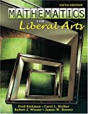 Mathematics for Liberal Arts, Richman, Fred and Wisner, Robert, 075752592X