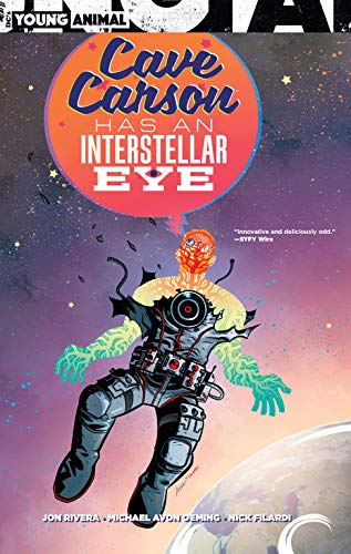 (Cave Carson Has an Interstellar Eye )
