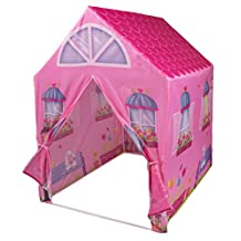 Big Pink Palace Kids House - Indoor and Outdoor Play Tent
