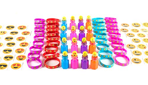 84 Piece Emoji Party Supplies