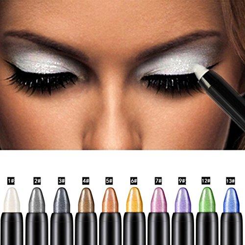 Waterproof Shadow Crayon 6 6 Wear Long Cream paupires Stick Fard qwCYvEw