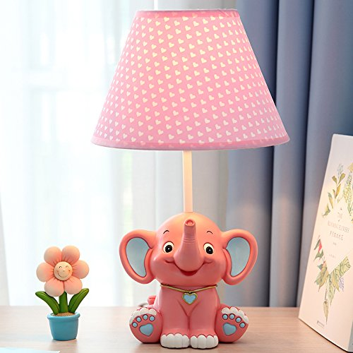 New Animal Catoon Night Light Table Desk Optical Illusion Lamps Lights LED Table Lamp Xmas Home Love Brithday Children Kids Baby Decor Toy Christmas Gift (elephant) by MOLLY HIESON