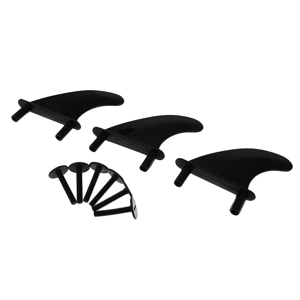 Replacement 6 Bolts for Softboard P Prettyia Performance 3Pcs Soft Top Surfboard Fins