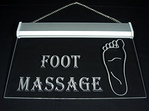 Open Foot Massage Body Spa Display Led Light Sign