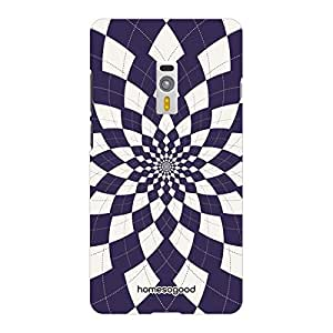 HomeSoGood Hypnotic Swirl Multicolor 3D Mobile Case For OnePlus 2 (Back Cover)