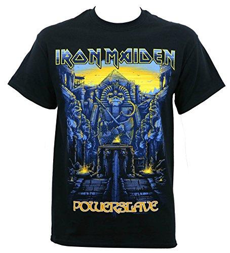 Iron Maiden Men's Dark Ink Powerslave T-Shirt L