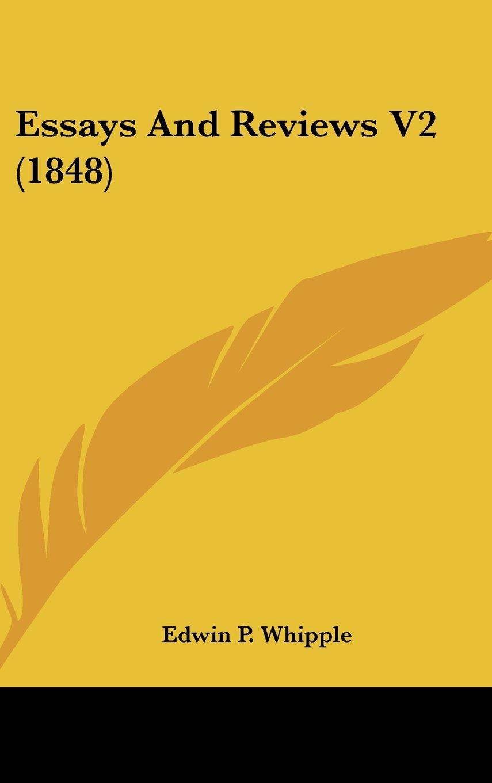 Download Essays And Reviews V2 (1848) pdf epub