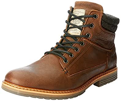 Wild Rhino Men's Nevada Shoes, Dark Brown, 7 AU (41 EU)