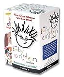 Baby Einstein Gift Pack Volume 2 (Baby Mozart/Baby Van Gogh/Baby Dolittle Neighborhood Animals & World Animals) [VHS] Image