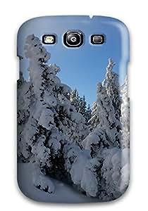 Galaxy S3 ApgbIEa1241KVvWc Snow Trees Hdtv 1080p Tpu Silicone Gel Case Cover. Fits Galaxy S3