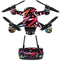 Skin for DJI Spark Mini Drone Combo - Color Bomb| MightySkins Protective, Durable, and Unique Vinyl Decal wrap cover | Easy To Apply, Remove, and Change Styles | Made in the USA