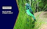 Moonrays 96369 Solar Garden Blue Bird Stake Light