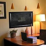 Rayne Mirrors American Made Solid Angle Blackboard/Chalkboard, 54'' X 90'''', black Finish
