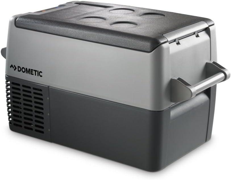 DOMETIC Coolfreeze CF 35 - Nevera de compresor portátil, Conexiones 12/24 / 230 V, 31 litros de Capacidad
