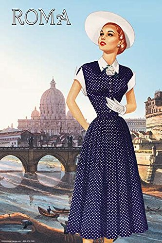 Buyenlarge Roma Vatican View Fashion II - Gallery Wrapped 44