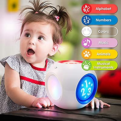 BEST LEARNING Learning Cube - Educational Activity Center Block Toy for Infants Babies Toddlers for 6 Month and up - Ideal Baby Toy Gifts: Toys & Games