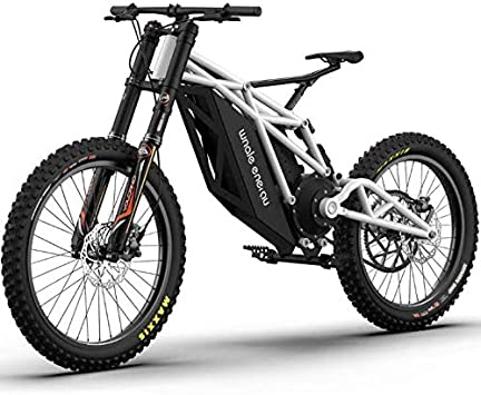 LJLYL Bicicleta de montaña eléctrica para Adultos, con batería de ...