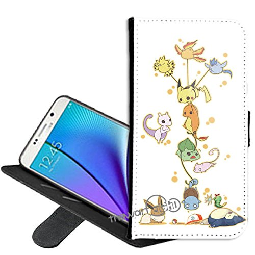 premium selection f91f1 9117a Case for Samsung Galaxy S8, Pokemon PU Leather Folio Flip Wallet Case Cover  with ID Credit Card Holder with Stand Wallet cover + Thewart_Eight Stylus  ...