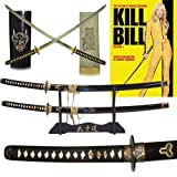 "Hattori Hanzo Collection ""Bill & Bride"" Sword Set with Display Stand"