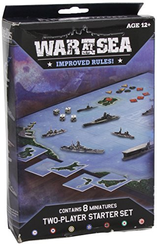 By Author War at Sea Starter: An Axis & Allies Naval Miniatures Game (Axis & Allies Miniatures) (Brdgm)