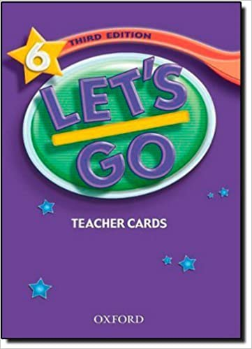 Book Let's Go 6 Teacher's Cards (Let's Go Third Edition) by Ritsuko Nakata (2007-12-13)
