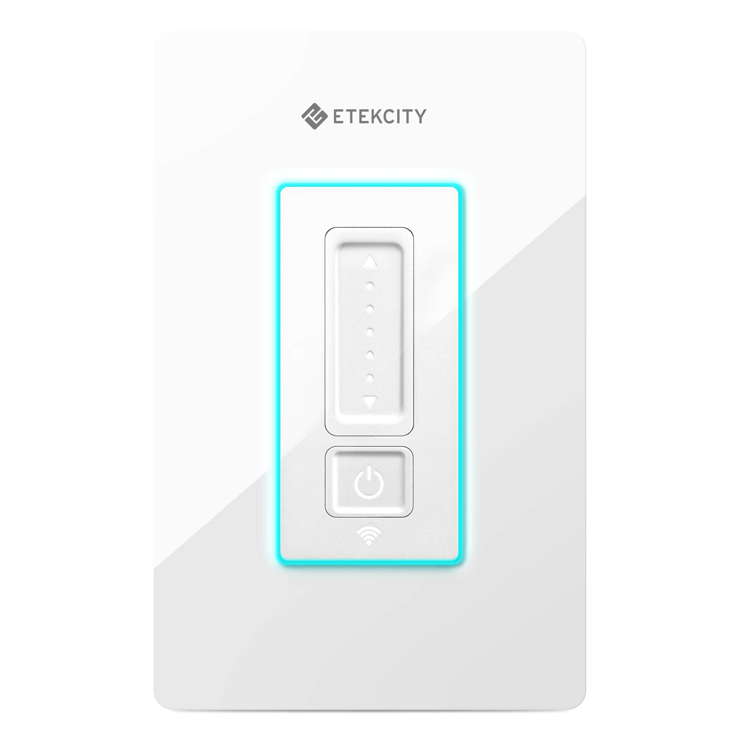 Smart Dimmer Switch by Etekcity, WiFi Light Switch Compatible with LED Lights, Works with Alexa and Google Home, Neutral Wire Required, FCC/ETL Listed, 2-Year Warranty