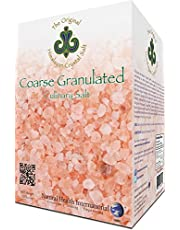 HIMALAYAN CRYSTAL SALT Coarse Granulated, 2.2Lb (1Kg) - Culinary Salt For Healthy Cooking - Mineral Rich Salt With Great Flavor