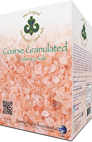 (Original Himalayan Crystal Salt - Coarse Granulated, 2.2lb (1kg) - Culinary Salt for Healthy Cooking - Mineral Rich Salt with Great Flavor)