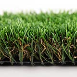 Efivs Arts Artificial Grass Lawn Turf 6.5 x 8 Feet Indoor and Outdoor Rugs