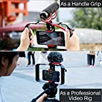 ULANZI U Rig Pro Smartphone Video Rig, Filmmaking Case, Phone Video Stabilizer Grip Tripod Mount for Videomaker Film-Maker Video-grapher for iPhone Xs XS Max XR iPhone X 8 Plus Samsung 3