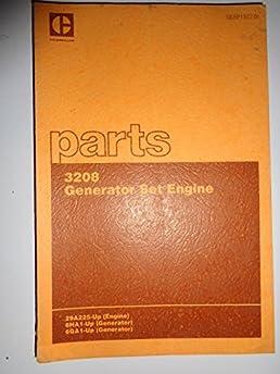 caterpillar 3208 generator set engine 29a225 up parts catalog rh amazon com caterpillar 3208 parts manual Cat 3208 Injection Pump Parts View