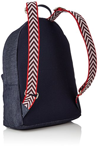 Tommy Hilfiger Poppy Backpack Denim, Sacs à dos femme, Blau (Denim), 13x40x30 cm (L x H P)