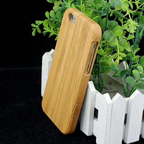 ABC(TM) Fashion Genuine Natural Bamboo Wooden Wood Case Cover for iPhone 6 6G 4.7inch
