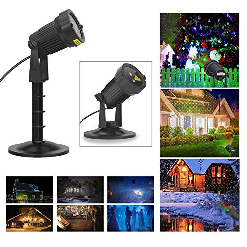Blinblin Small Size Outdoor Lawn Light Starry Decorations Outdoor Indoor Projector,Waterproof Landscape Lights for Parties,Halloween Projection Lights,Halloween Lawn Lights