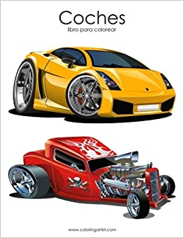 Coches libro para colorear 1 (Volume 1) (Spanish Edition): Nick Snels: 9781539692607: Amazon.com: Books