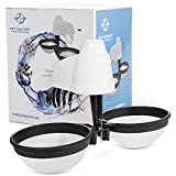 Fish Egg Hatchery, Incubator, and Tumbler by Fry Factory, Electronic Catfish and Cichlid Breeding Hatcher Box - Double Net, Baby Eggs Breeder for Aquariums, Tanks, Farms - 12 Volt, Automatic, Patented
