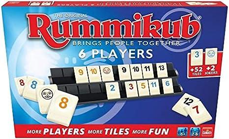 Rummikub Original 6 Jugadores, Multicolor (Goliath 50412): Amazon.es: Juguetes y juegos