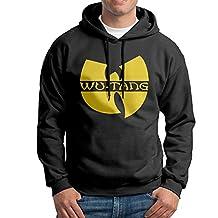 The Wu Tang Symbol College Hoodie Sweatshirt Men Black