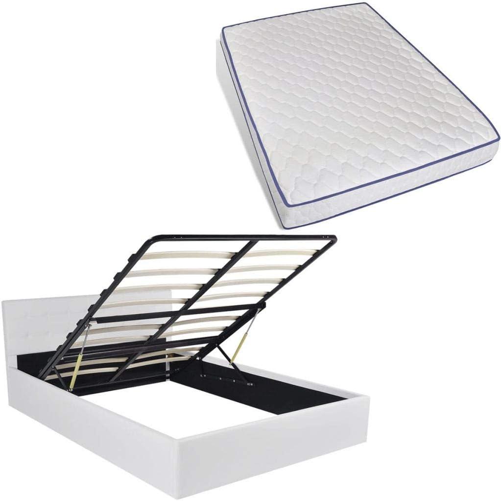Fijo Night – Espacio hidráulica cama tapizada (Espacio cama ...