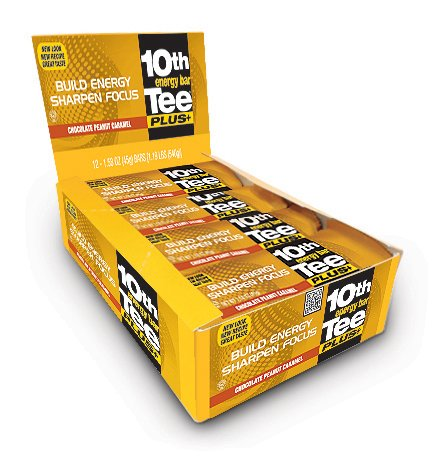 10th Tee Plus+ Chocolate Peanut Caramel Bars